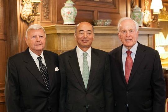 Ambassadors Robinson, Sasae and Hand