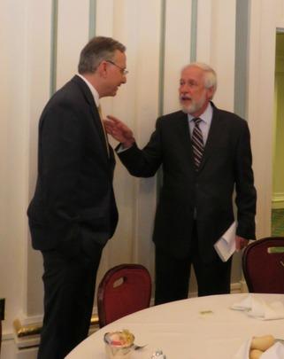 Ambassador Adelman and Ambassador Chorba