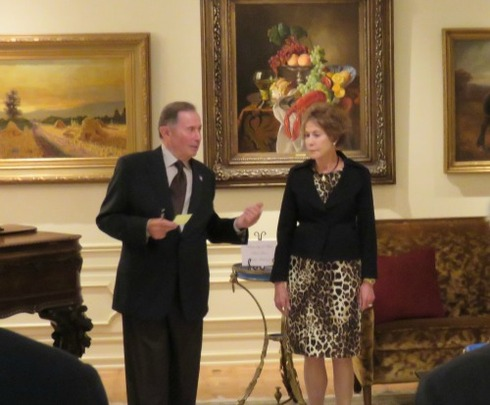 Ambassador and Mrs. Price welcomed the CAA delegation and guests at their residence in Salt Lake City, UT.