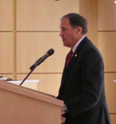 Utah Governor Gary Herbert addressed the conference.