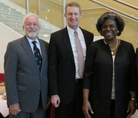 Ambassador Timothy A. Chorba, Mr. Kirk Jowers and Assistant Secretary Linda Thomas-Greenfield