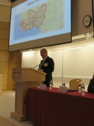Col. John Garrett, USMC (ret.) discussed security challenges in Africa.