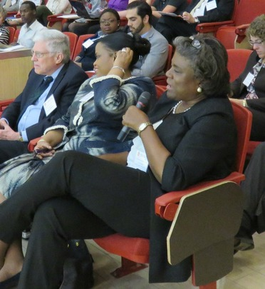 Assistant Secretary of State Linda Thomas-Greenfield asked a question.
