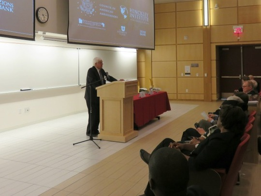 Ambassador Donald T. Bliss provided closing remarks.