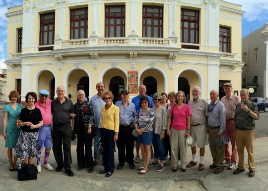 The Council delegation in Cienfuegos, Cuba
