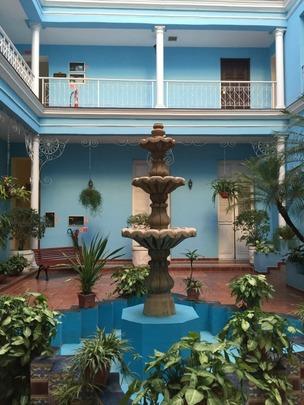 La Unión Hotel in Cienfuegos, Cuba