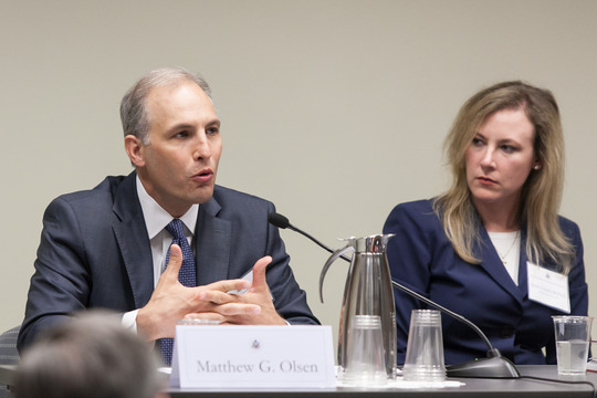 Former Director of the National Counterterrorism Center Matthew Olsen and ISW Research Director Jessica Lewis McFate