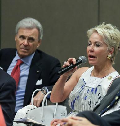 Ambassador Stuart Bernstein and Ambassador Mary Ourisman