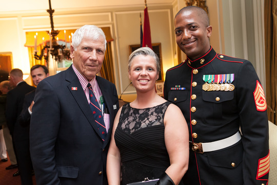 U.S. Marine Corps Embassy Security Guards Reception