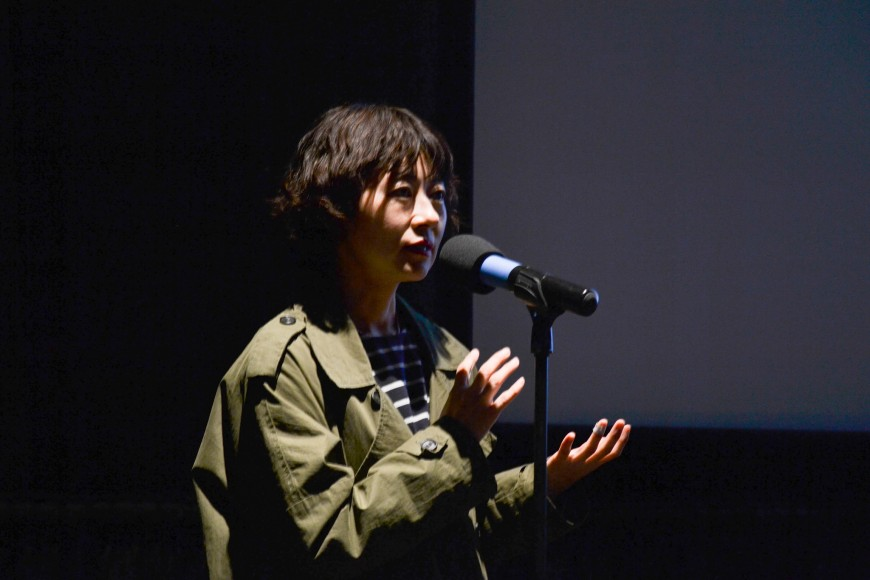 Director of Cart,  Boo Ji-young.