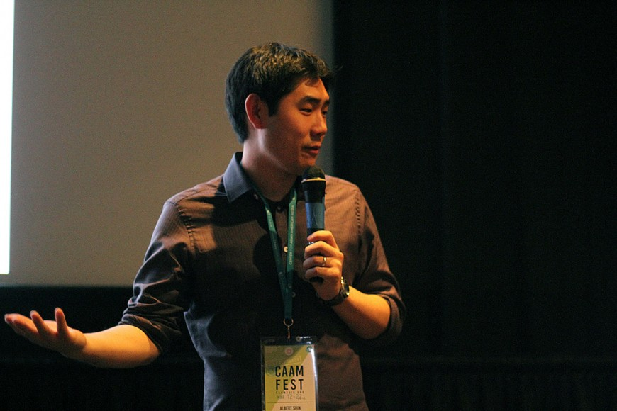 Director of In Her Place, Albert Shin