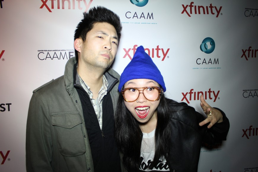 Phil Yu aka Angry Asian Man and Awkwafina