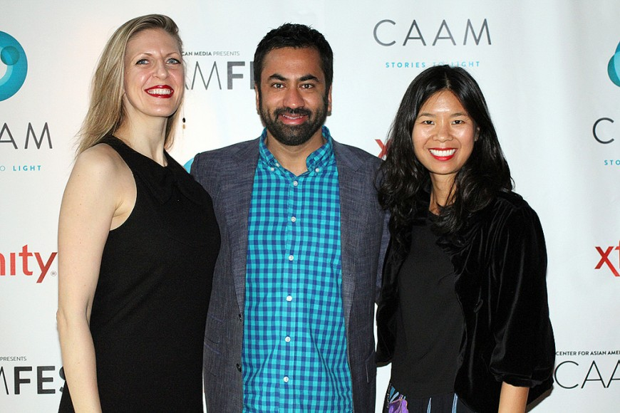 Director of The Sisterhood of Night Caryn Waechter, writer Marilyn Fu, and Actor Kal Penn