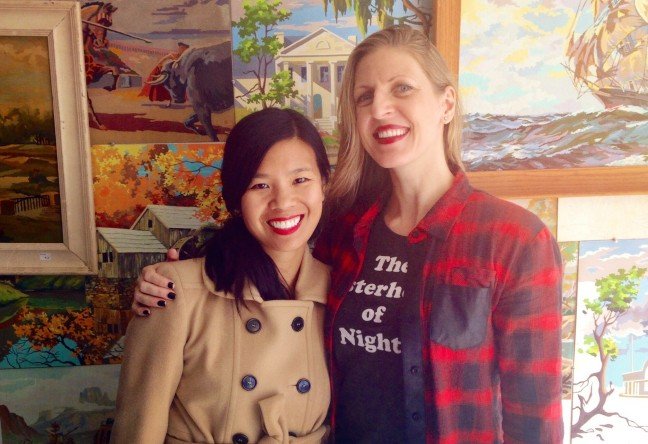 """The Sisterhood of Night"" writer Marilyn Fu and director Caryn Waechter."