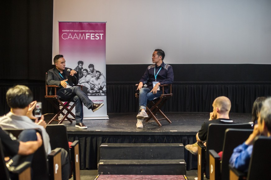 FRESH OFF THE BOAT Executive Producer Melvin Mar chats with CAAM Festival & Exhibitions Direct Masashi Niwano