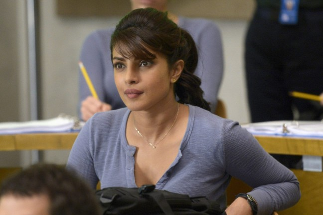 "Priyanka Chopra in ABC's ""Quantico."" (ABC/Phillippe Bosse)"