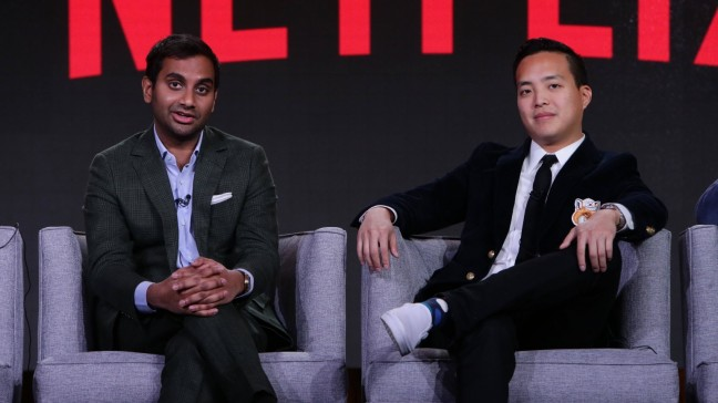 Aziz Ansari and Alan Yang