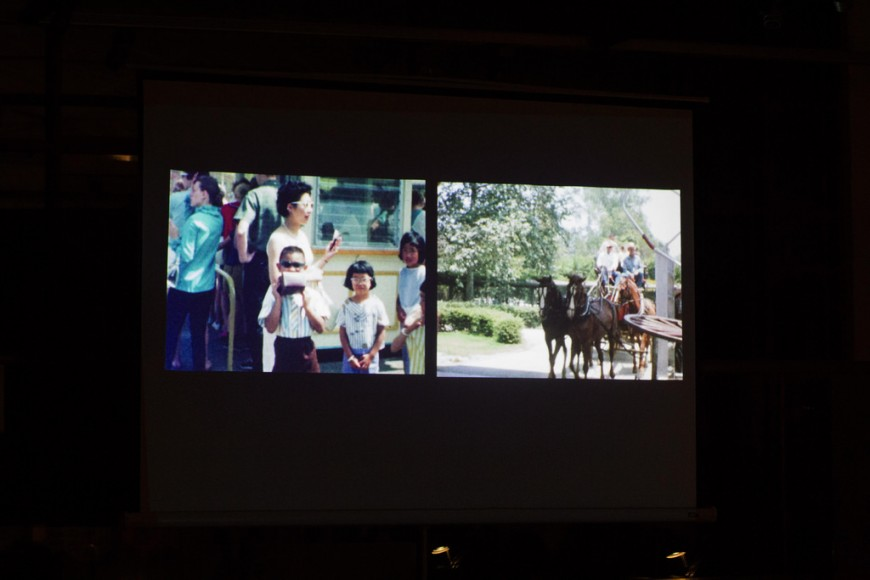 Memories to Light: Chinese American Home Movies. Photo by Mike Sesno