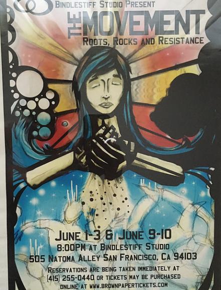 Lorna Velasco was Co-Director, with Jasper Pugao, of Movement: Roots Rocks Resistance (Bindlestiff Studio, San Francisco 2005)