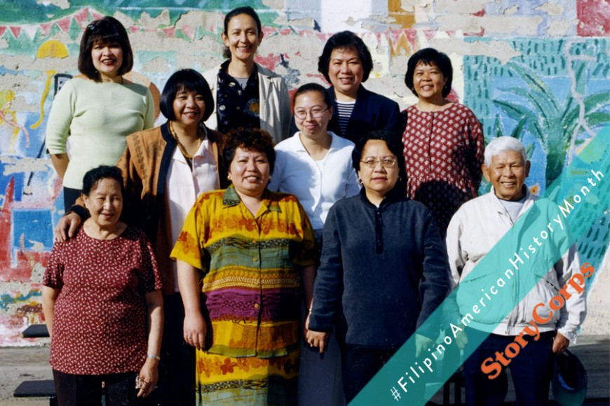 The staff at the Filipino Education Center in San Francisco, 1999-2000. Photo courtesy of Charity Ramilo. The FEC is now combined with Bessie Carmichael Elementary School.