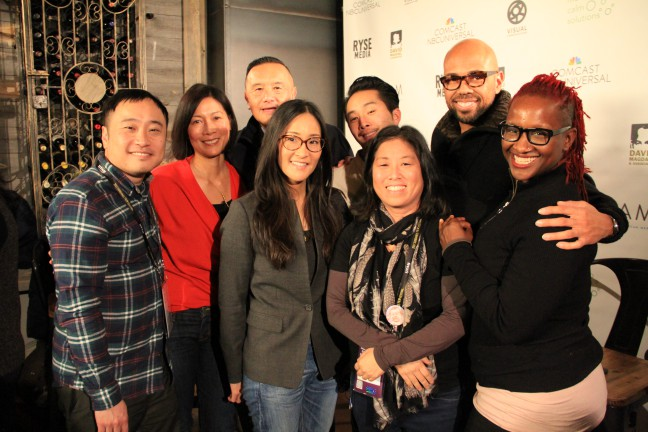 Sundance panelists. Photo by Abraham Ferrer.