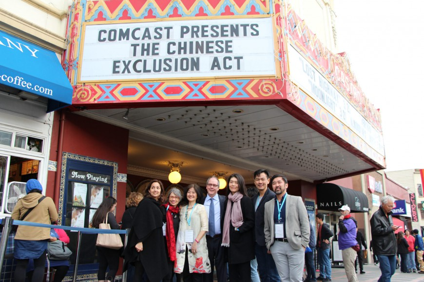 "The Closing Night film, ""The Chinese Exclusion Act,"" held its West Coast Premiere at CAAMFest 2017 to a sold out Castro Theatre. Photo by Carmine Bai for CAAM."