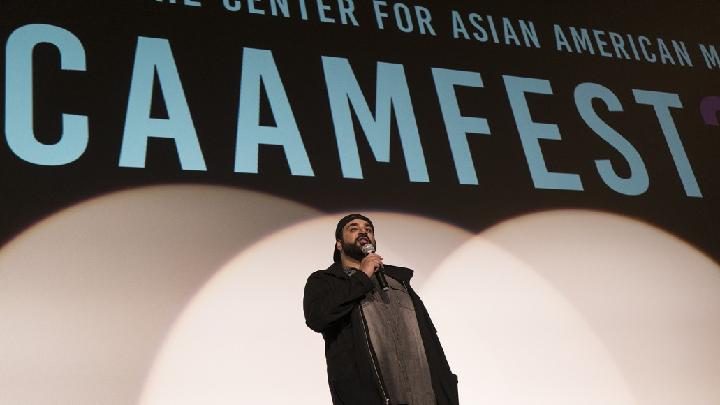 """Tanuj Chopra, director of """"Chee at Tee,"""" at CAAMFest 2017. Photo by Gabe Chewy for CAAM."""