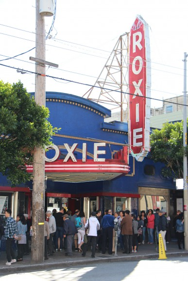 """""""Resistance at Tule Lake"""" at the Roxie during CAAMFest 2017. Photo by Carmine Bai for CAAM."""