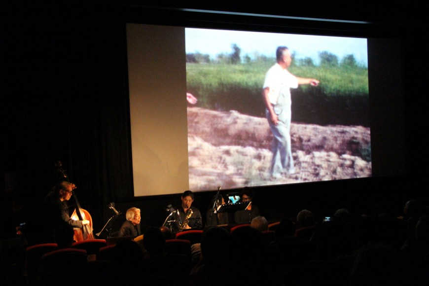 Memories to Light: Asian American Central Valley Home Movies with live accompaniment. Photo by Carmine Bai for CAAM.