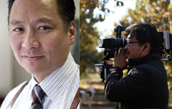 Jeff Adachi (left) and Jim Choi.