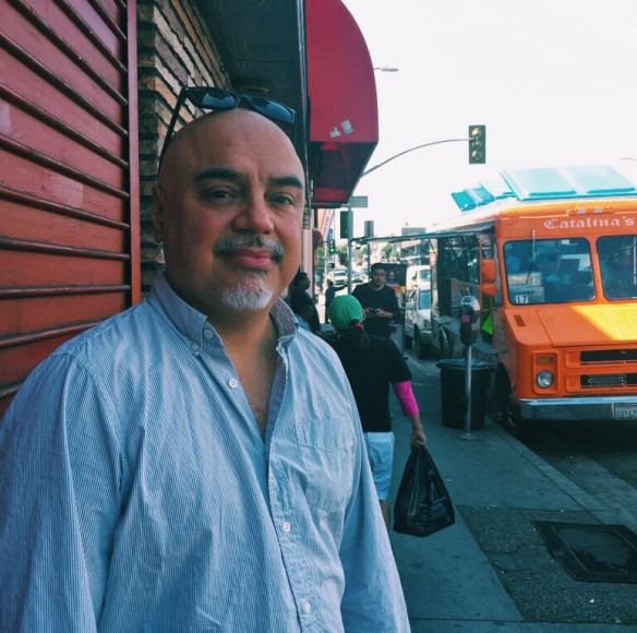 "Hector Tobar covered the Rodney King beating and riots for the ""Los Angeles Times."""