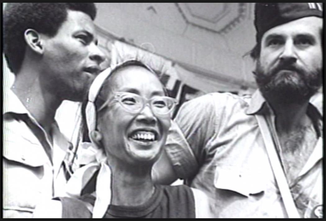 Yuri Kochiyama Holding Malcolm X