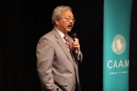 CAAM Mayor Ed Lee