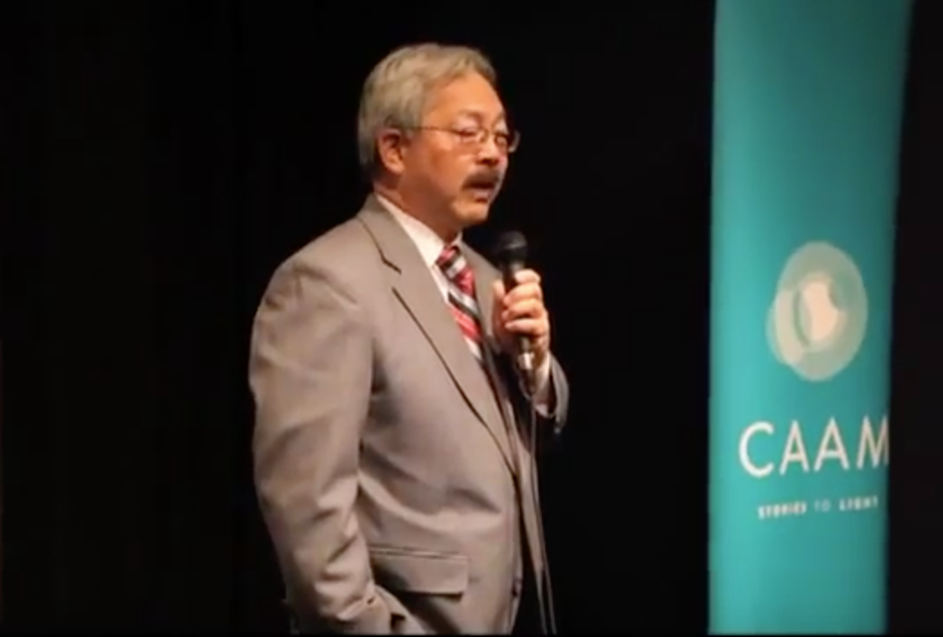 CAAM Mayor Ed Lee