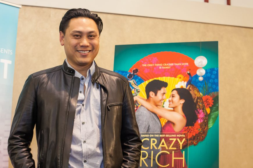 Jon M. Chu at CAAMFest 36. Photo by Lucy Saephan