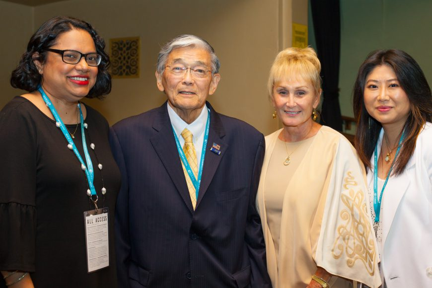 CAAMFest36 Opening Night Film: AN AMERICAN STORY: NORMAN MINETA AND HIS LEGACY. Photo by Lucy Saephan