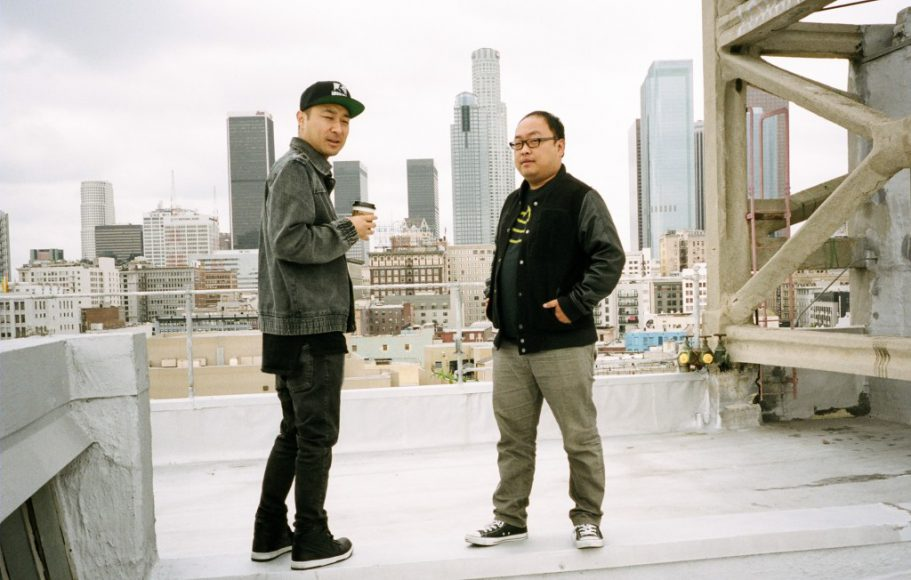 Dpd and Danny Cho. Photo by Mike Lee.