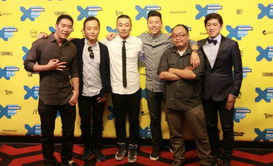 The KTOWN COWBOYS cast and crew at SXSW. Photo courtesy of Transparent Agency.
