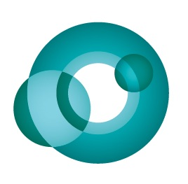 CAAM logo with a teal colored swirl.