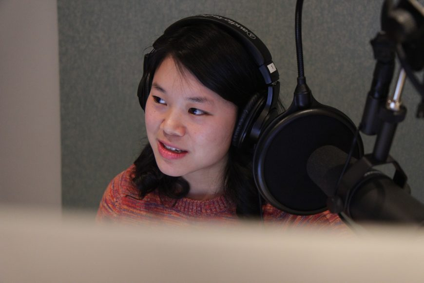 Self Evident: Asian America's Stories is a podcast hosted by Cathy Erway. Photo courtesy of Self Evident.