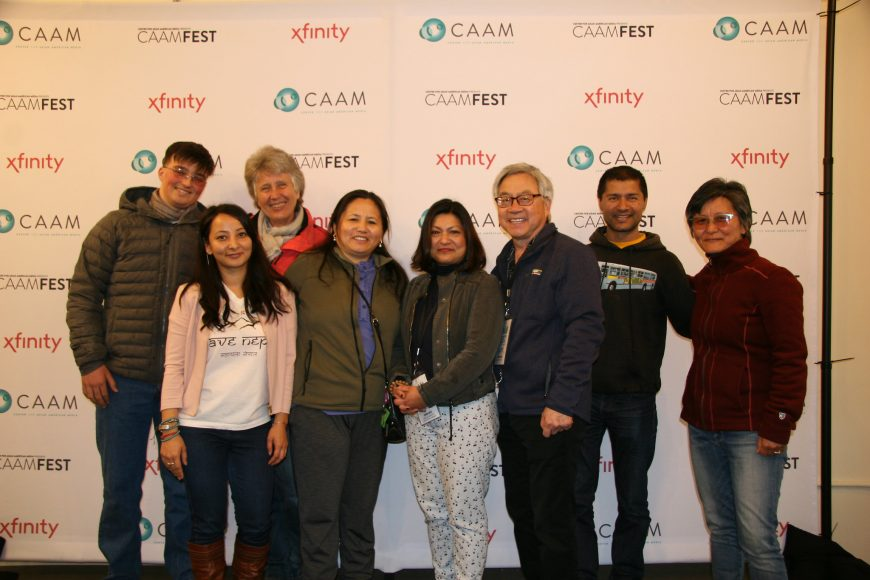 CAAMFest37 Moving Mountains reception focusing on films and filmmakers from the Himalayas.