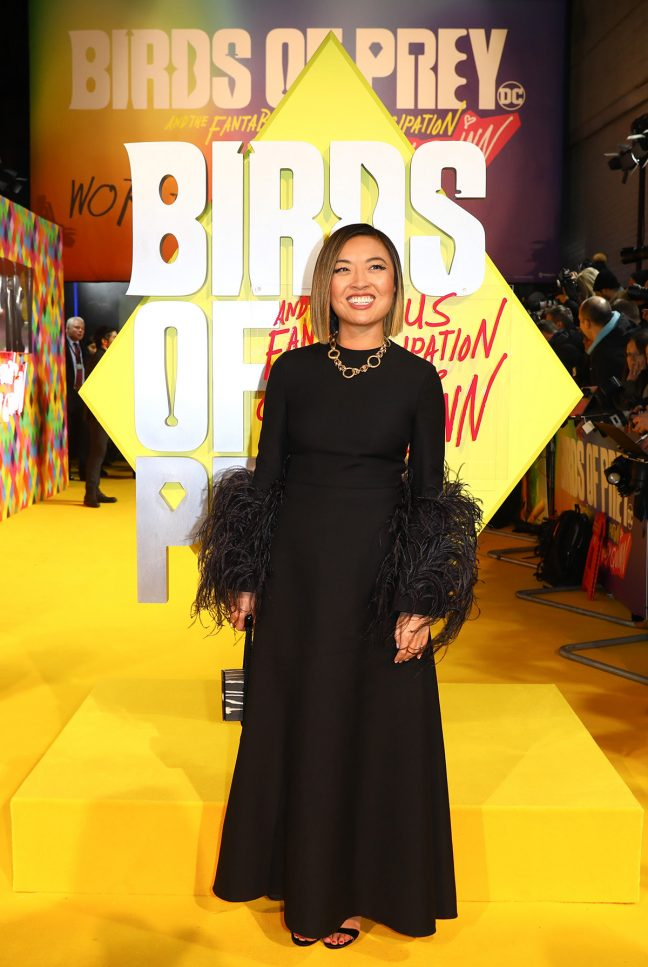 Cathy Yan Birds of Prey premiere