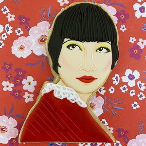 Anna May Wong cookie