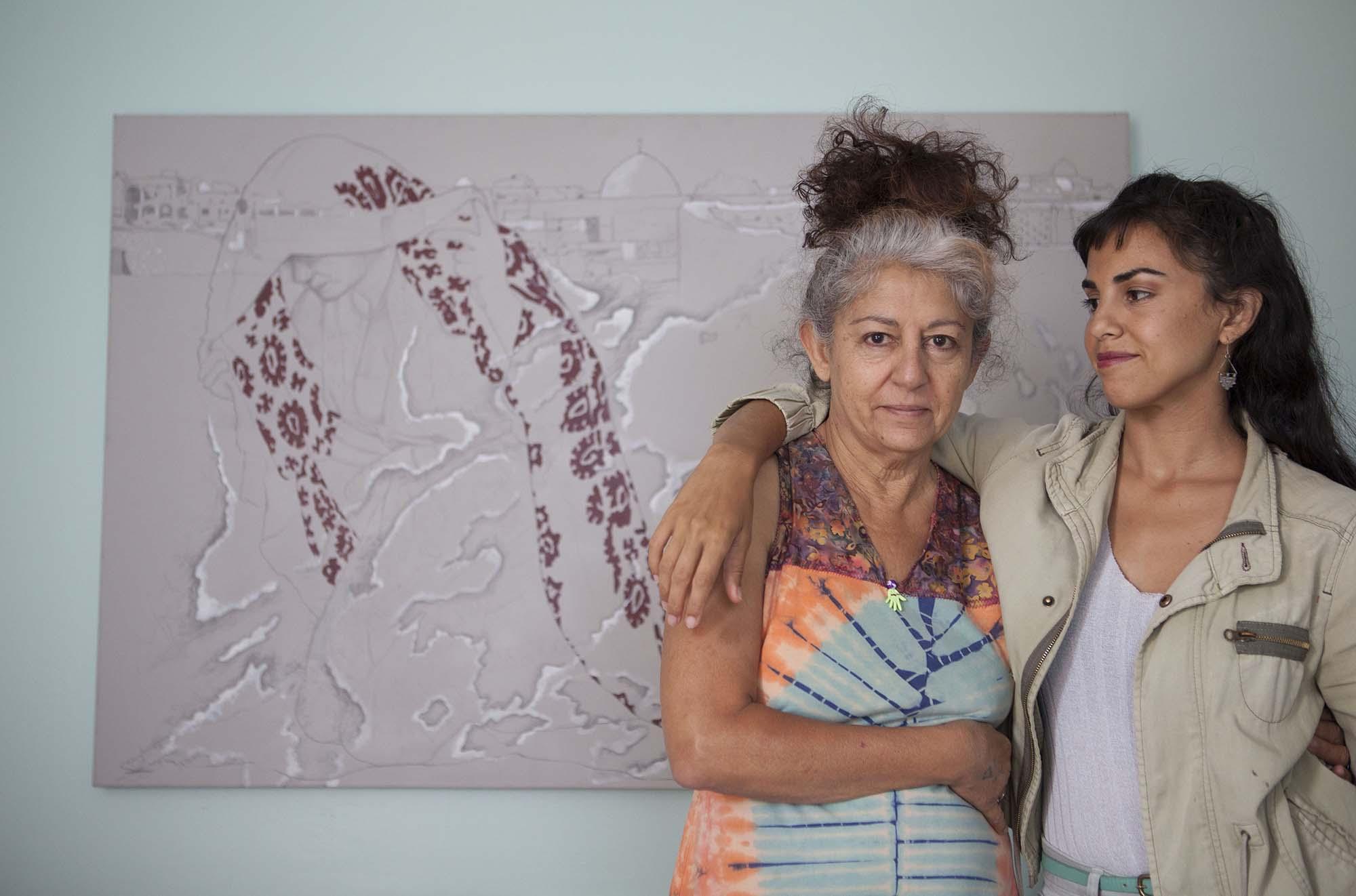 Lahib Jaddo and Nadia Shihab