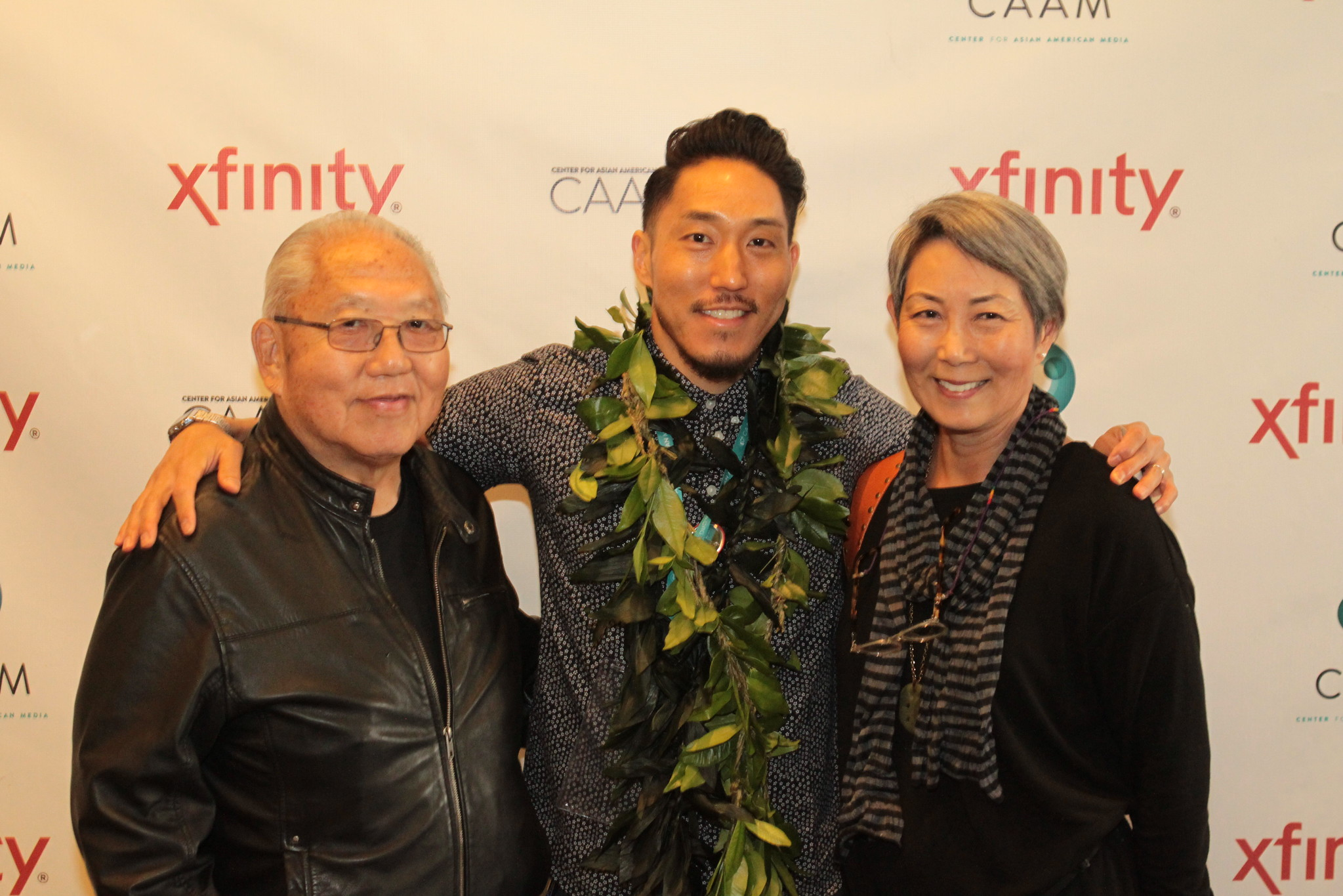Tad Nakamura and parents