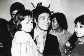 Bruce Lee and daughter Shannon Lee