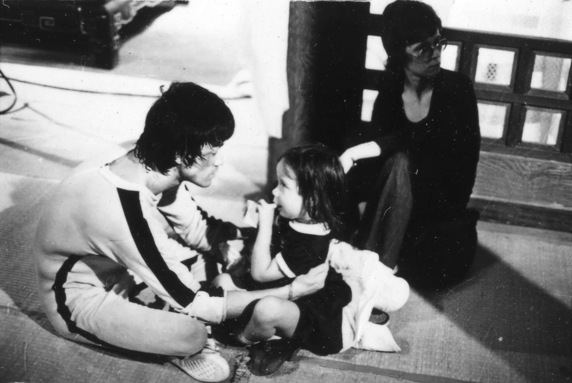 Bruce Lee with daughter Shannon Lee