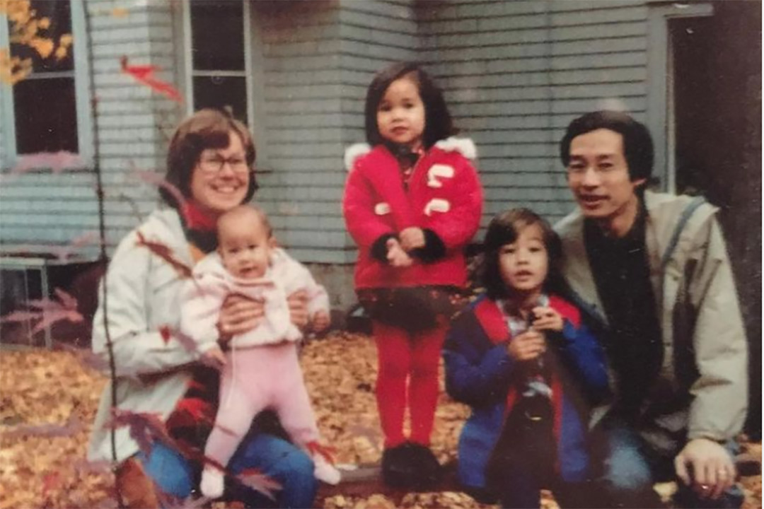 Ursula Liang family photo