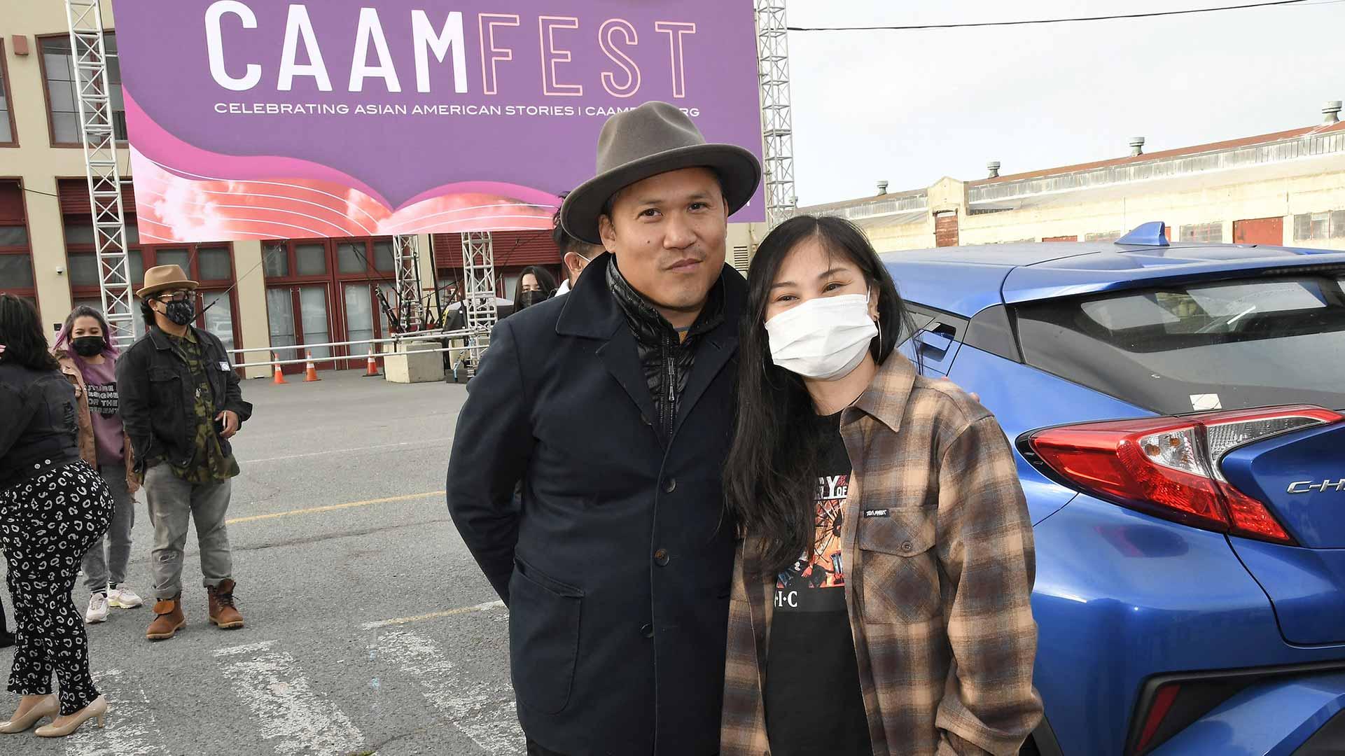 Dante Basco and Ruby Ibarra