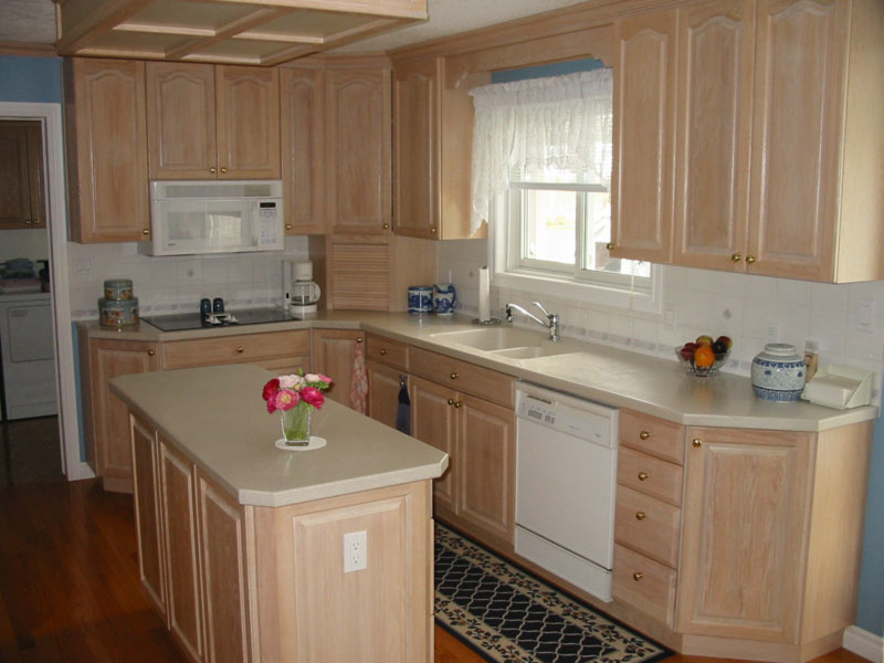 our work the cabinet mill ForBleaching Kitchen Cabinets